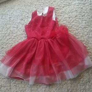 NWT Nannette Girls Floral Lace Overlay Tutu Party Dress 2T 3T 4T 5 6